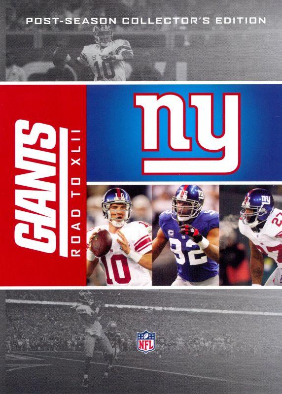 NFL: New York Giants - Road to XLII [5 Discs] [DVD] 8801558