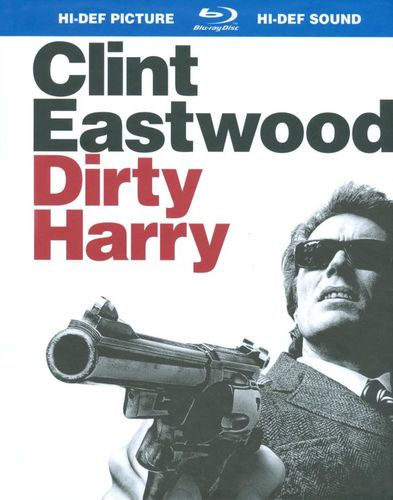 Dirty Harry [Blu-ray] [Digi Book Packaging] [1971] 8801692