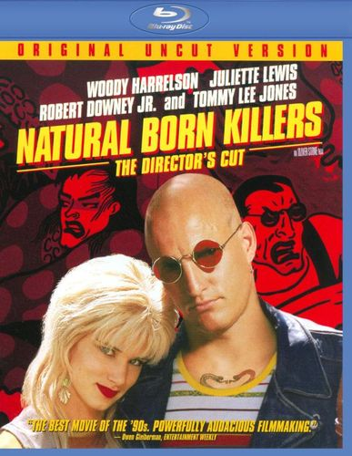 Natural Born Killers [Unrated] [Director's Cut] [Blu-ray] [1994] 8801754