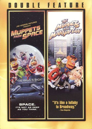 Muppets from Space/Muppets Take Manhattan [2 Discs] [DVD] 8803182