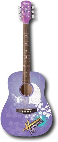 US Music - Hannah Montana 6-String 3/4-Size Acoustic Guitar
