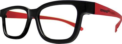 XPAND - Passive Universal 3D Glasses - Black/Red 8808388