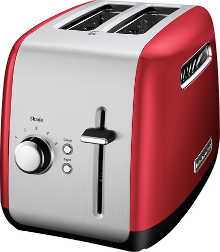 KitchenAid 2-Slice Wide-Slot Toaster Empire Red KMT2115ER