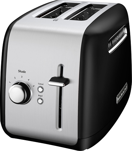KitchenAid 2-Slice Wide-Slot Toaster Onyx Black KMT2115OB
