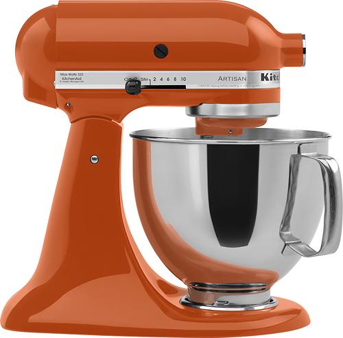 KitchenAid - KSM150PSPN Artisan Series Tilt-Head Stand Mixer - Persimmon