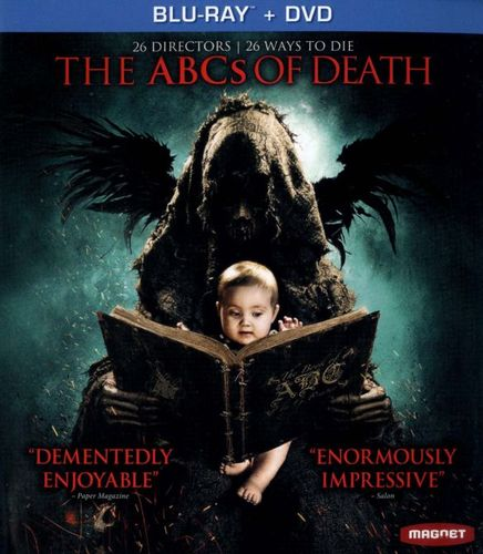 The ABCs of Death [2 Discs] [Blu-ray/DVD] [2012] 8833296