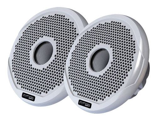 """Fusion - 4"""" 2-Way Outdoor Speakers (Pair) - White"""