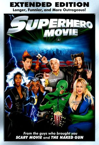 Superhero Movie [WS] [Unrated] [Extended Edition] [DVD] [2008] 8856375