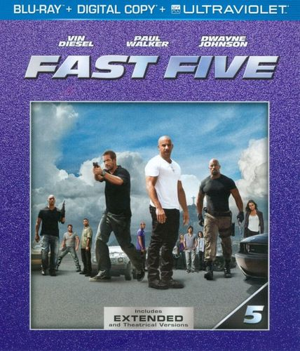 Fast Five [Includes Digital Copy] [UltraViolet] [Blu-ray] [2011] 8862093