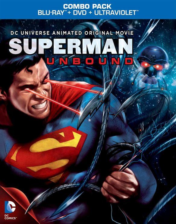 Superman: Unbound [Includes Digital Copy] [UltraViolet] [Blu-ray] [2013] 8869078