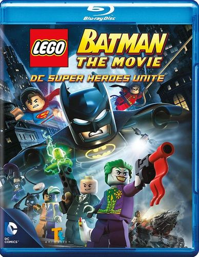 LEGO Batman: The Movie - DC Super Heroes Unite [2 Discs] [Blu-ray/DVD] [UltraViolet] [2013] 8871922