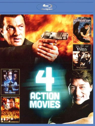 4-Film Action Pack, Vol. 4 [Blu-ray] 8872876
