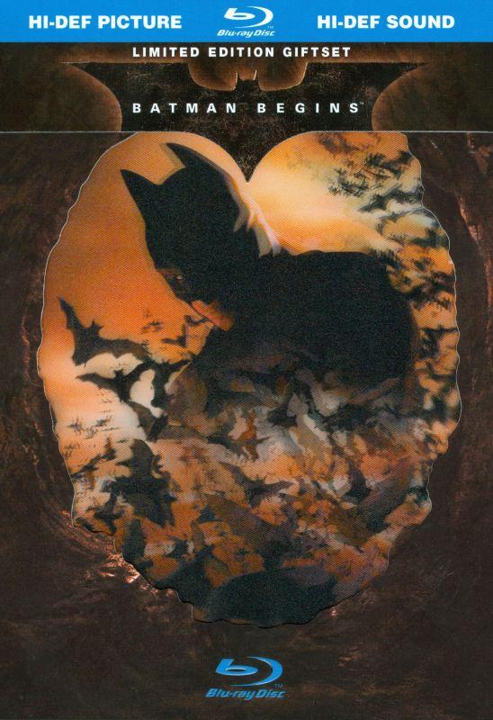 Batman Begins [Blu-ray] [With Book] [2005] 8880197