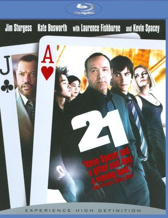 21 [Blu-ray] [2008] 8896787