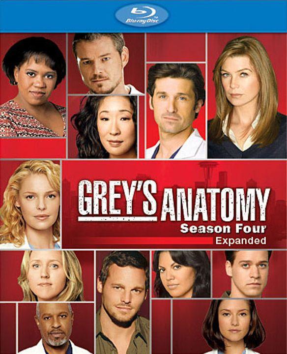 Grey's Anatomy: The Complete Fourth Season [4 Discs] [Blu-ray] 8912938