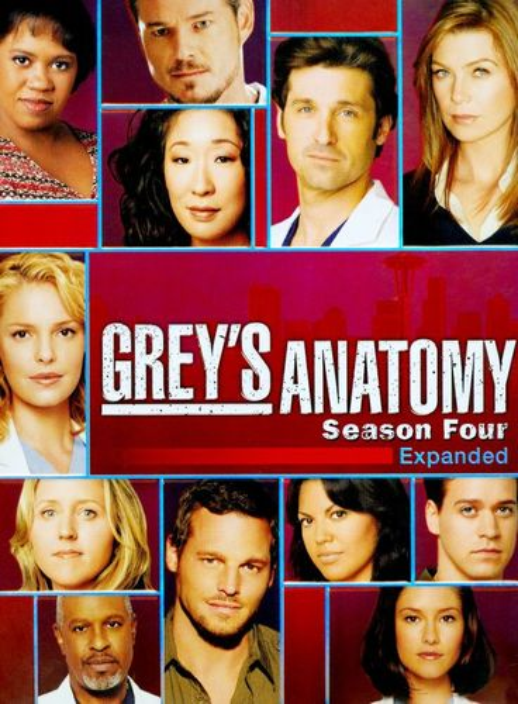 Grey's Anatomy: The Complete Fourth Season [5 Discs] [DVD] 8913018