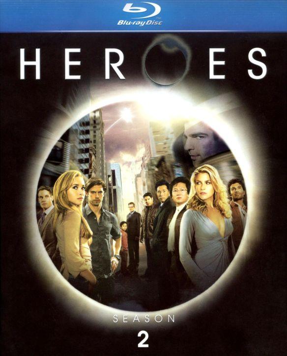 Heroes: Season 2 [4 Discs] [Blu-ray] 8915873
