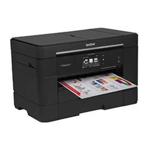 Brother MFC-J5920DW Business Smart Inkjet Multifunction Printer Color Plain Paper Print Desktop Black