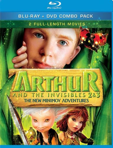 Arthur and the Invisibles 2 & 3: The New Minimoy Adventures [2 Discs] [Blu-ray/DVD] 8927424