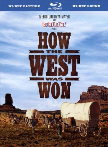 How the West Was Won [Blu-ray] [Digi Book Packaging] [1962] 8929378