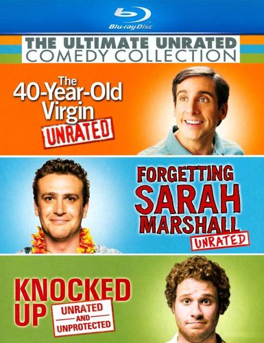 The Ultimate Unrated Comedy Collection [Blu-ray] [3 Discs] 8937083
