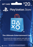 Sony - PlayStation Network $20 Gift Card