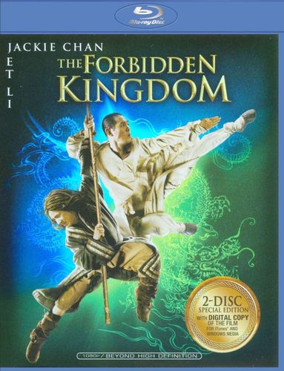 The Forbidden Kingdom [Blu-ray] [2008] 8947081