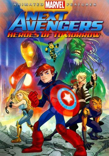 The Next Avengers: Heroes of Tomorrow [WS] [DVD] [2008] 8970027