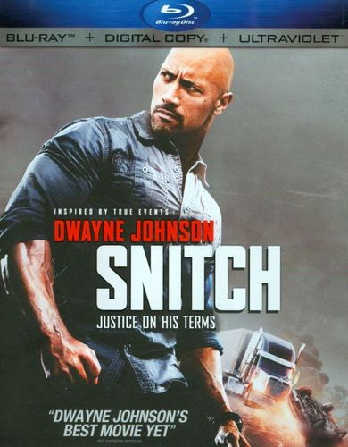Snitch [Includes Digital Copy] [UltraViolet] [Blu-ray] [2013] 8970049