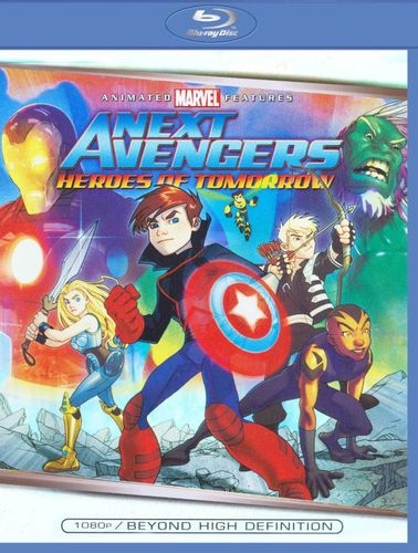 The Next Avengers: Heroes of Tomorrow [Blu-ray] [2008] 8970134