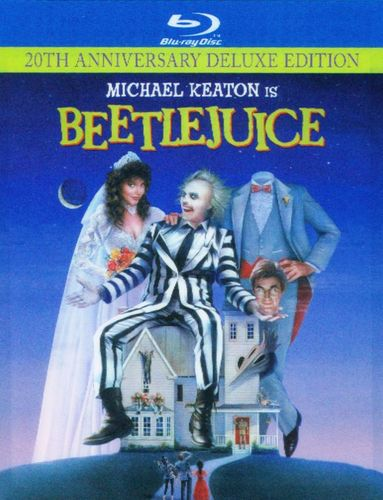 Beetlejuice [Blu-ray] [20th Anniversary Edition] [Digi Book Packaging] [1988] 8971384