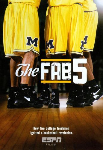 ESPN Films 30 for 30: The Fab Five [DVD] [2011] 8976362