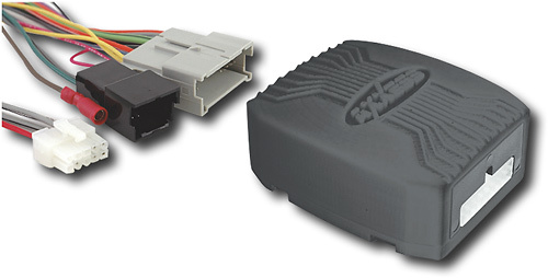 Buy AXS - Aftermarket Radio Installation Kit for Select ... Aftermarket Wire Harness Black Piece on