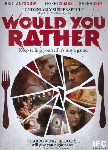 Would You Rather [DVD] [2012] 8999101