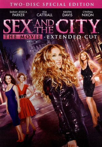 Sex and the City: The Movie [Special Edition] [Extended Version] [2 Discs] [DVD] [2008] 9004409
