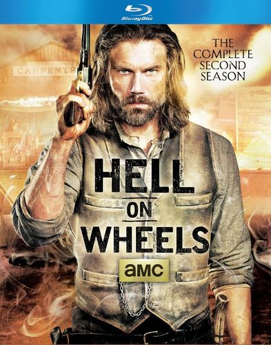 Hell on Wheels: The Complete Second Season [3 Discs] [Blu-ray] 9006111
