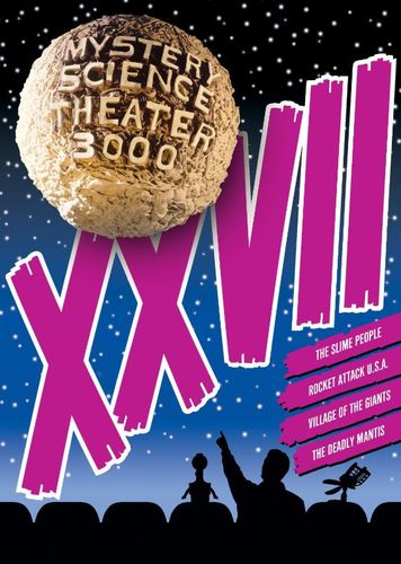 Mystery Science Theater 3000: XXVII [4 Discs] [DVD] 9015128