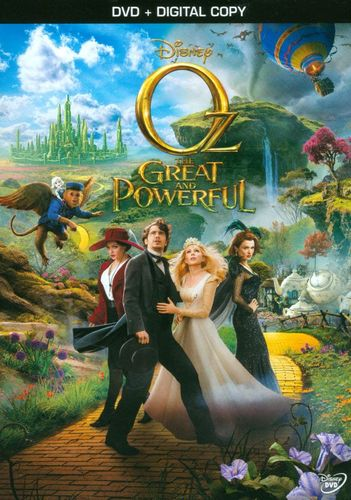 Oz the Great and Powerful [Includes Digital Copy] [DVD] [2013] 9015191