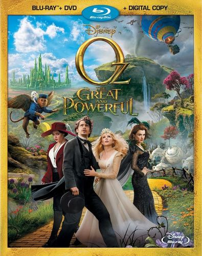 Oz the Great and Powerful [2 Discs] [Includes Digital Copy] [Blu-ray/DVD] [2013] 9015207