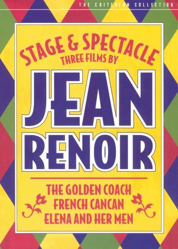 Stage and Spectacle: Three Films By Jean Renoir [3 Discs] [Criterion Collection] [DVD] 9021701