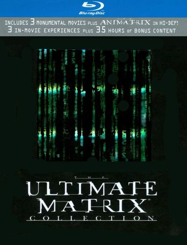 The Ultimate Matrix Collection [Blu-ray] [7 Discs] 9022693