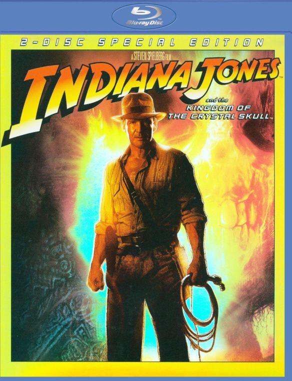 Indiana Jones and the Kingdom of the Crystal Skull [Blu-ray] [2008] 9025182