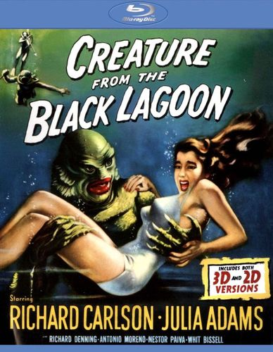 Creature from the Black Lagoon [Blu-ray] [1954] 9045067