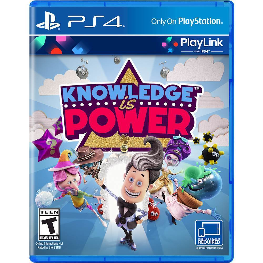 Knowledge is Power PlayStation 4 3002306