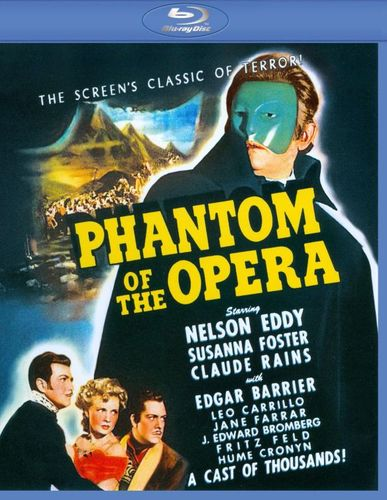 The Phantom of the Opera [Blu-ray] [1943] 9046048
