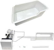 Frigidaire Icemaker Kit for Most Frigidaire 27 to 28 Cu. Ft. Bottom-Mount Refrigerators White IMK0028A