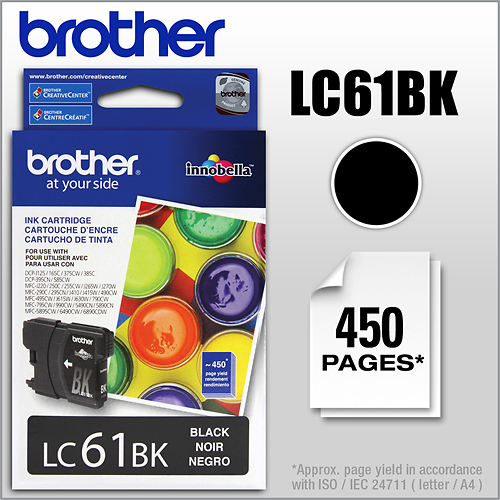 Brother - LC61BK Ink...