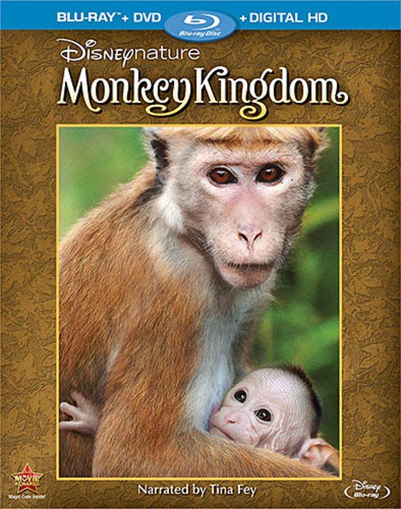 Disneynature: Monkey Kingdom [Blu-ray/DVD] [2 Discs] [2015] 9062142