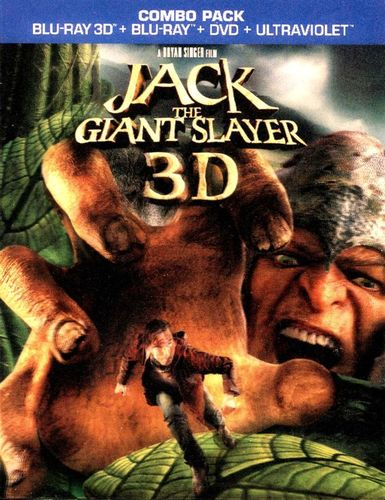 Jack the Giant Slayer [3 Discs] [Includes Digital Copy] [UltraViolet] [3D] [Blu-ray/DVD] [Blu-ray/Blu-ray 3D/DVD] [2013] 9065556