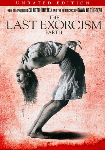 The Last Exorcism Part II [Unrated] [Includes Digital Copy] [UltraViolet] [DVD] [2013] 9071065